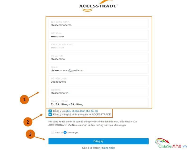 trang dang ky accesstrade